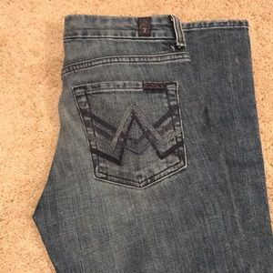 Bootcut 7 for all man kind jeans